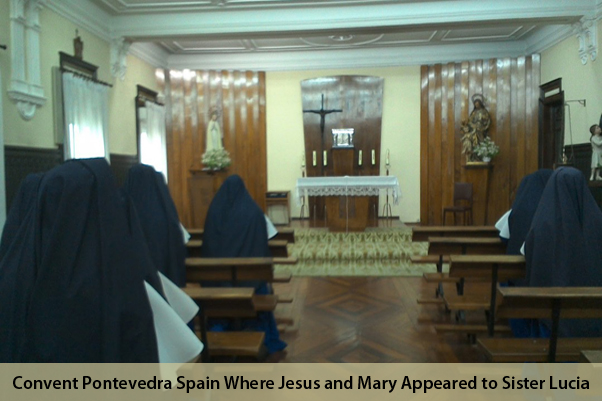 Further Little Known Apparitions – Pontevedra Spain