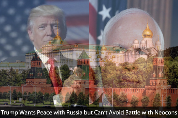 Trump Wants Peace with Russia but Must Battle His Own Party & Avoid Impeachment